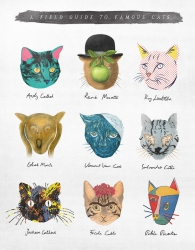 A field guide to famous cats