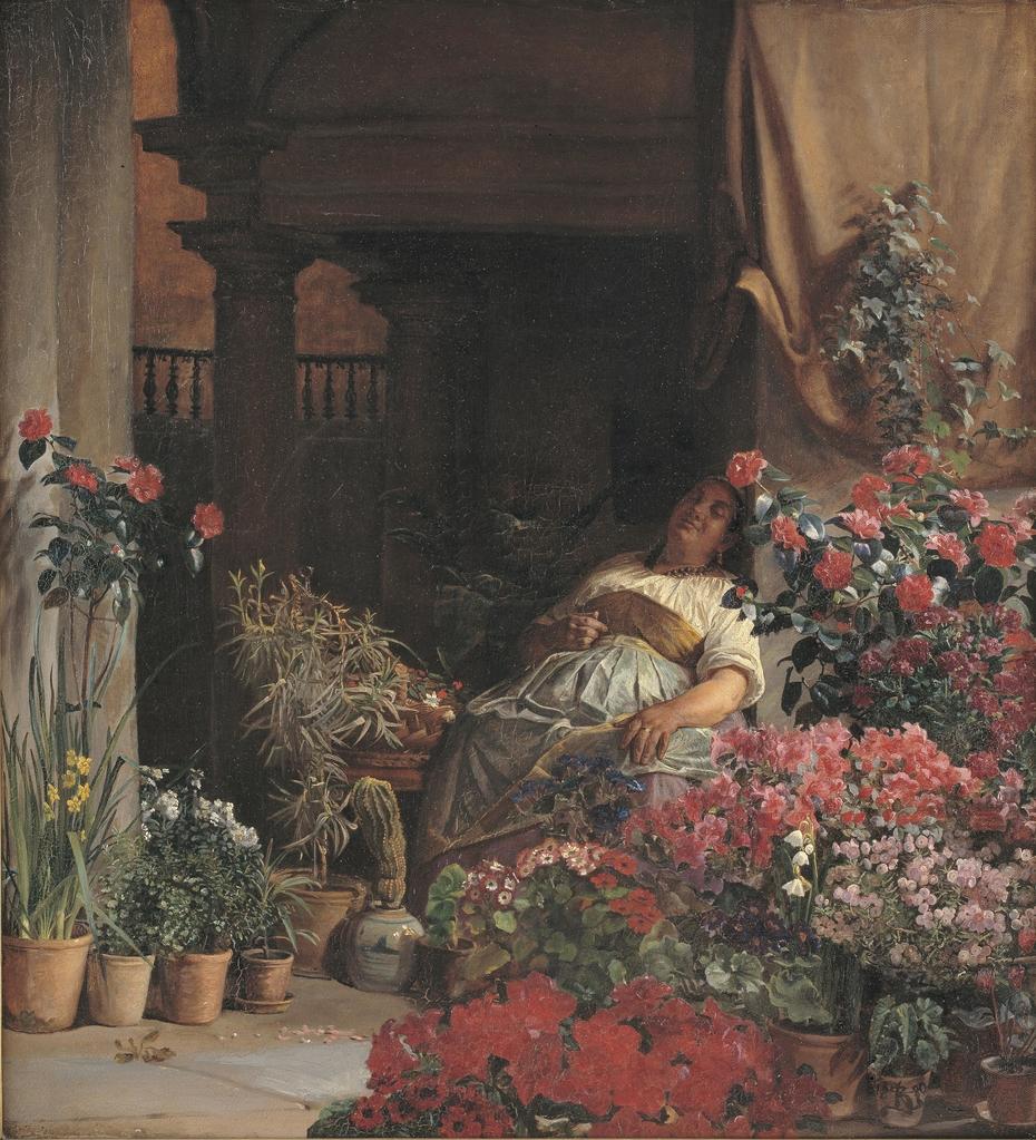 A Florentine Flower Seller