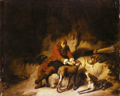 A hunter at rest