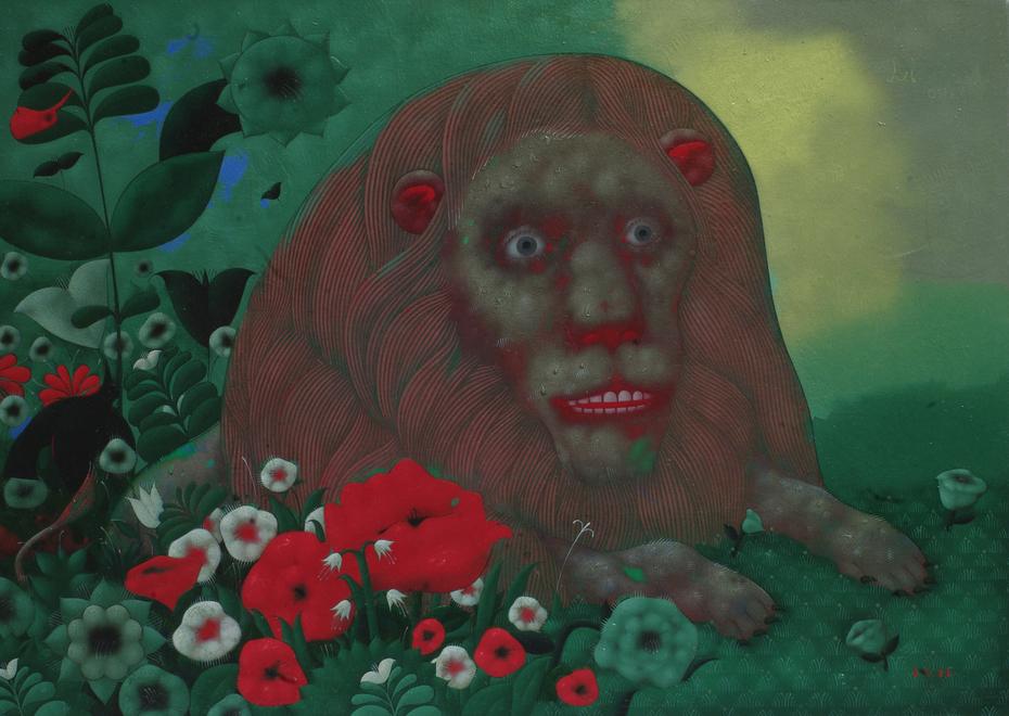 """""""A lion"""" 2011"""