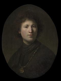 A Young Man with a Chain