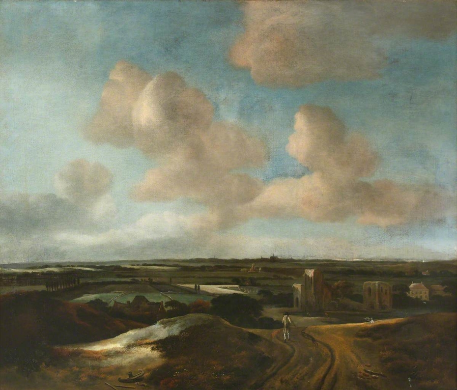 An Extensive Landscape with the Ruins of Brederode Castle, near Haarlem