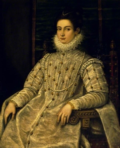An Unknown Noblewoman seated in a Chair