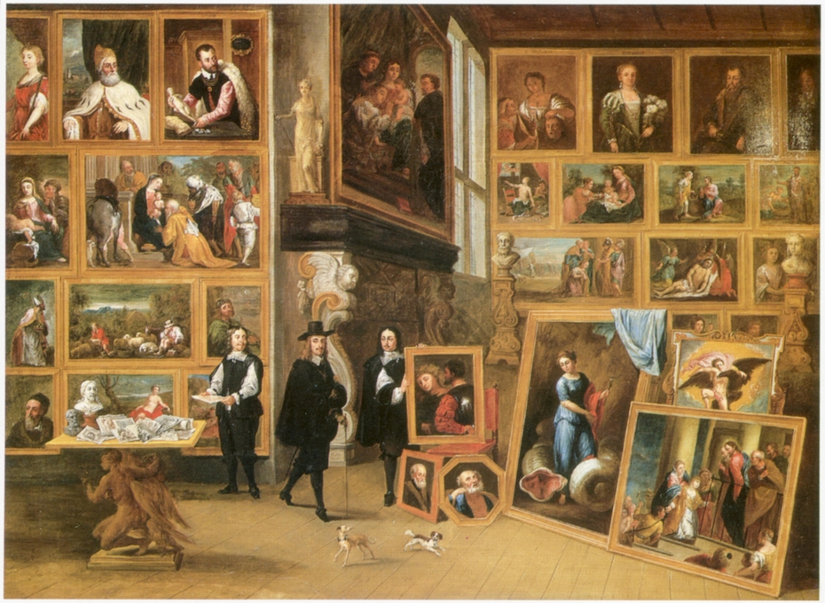 Archduke Leopold Wilhelm in his Gallery in Brussels