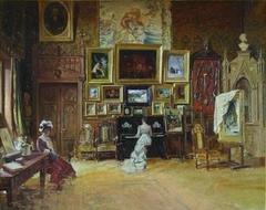 Artist Studio in Paris