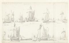 Bezoek van de Engelse koning Karel II aan twee Oostindiëvaarders tijdens zijn tocht op 27 Augustus 1681