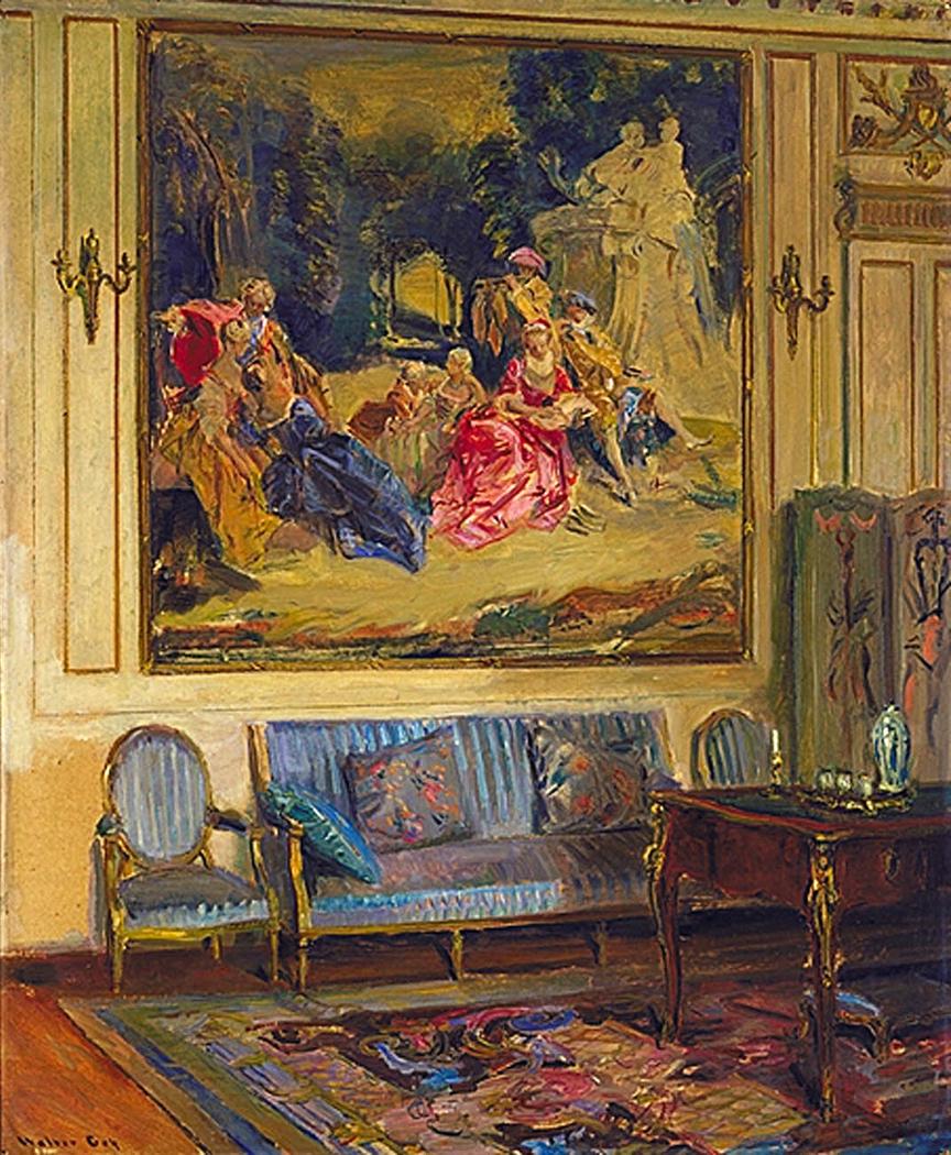 Boudoir, Chateau de Chaalis
