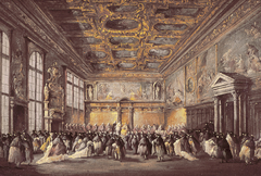 Ceremonial Event in the Doge's Palace