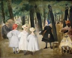 Children in the Tuileries Garden