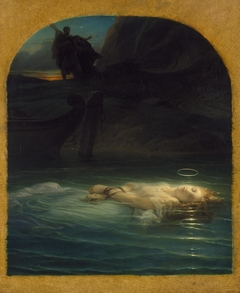 Christian Martyr Drowned in the Tiber During the Reign of Diocletian
