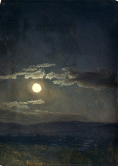 Cloud Study, Moonlight