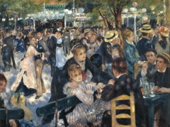 Dance at Le Moulin de la Galett