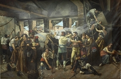 Defensa del Convento de Santa Engracia de Zaragoza 1809