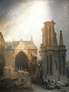Demolition of the Church of the Feuillants