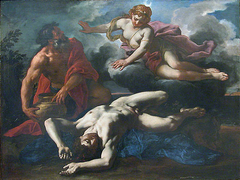 Diana next to the Corpse of Orion