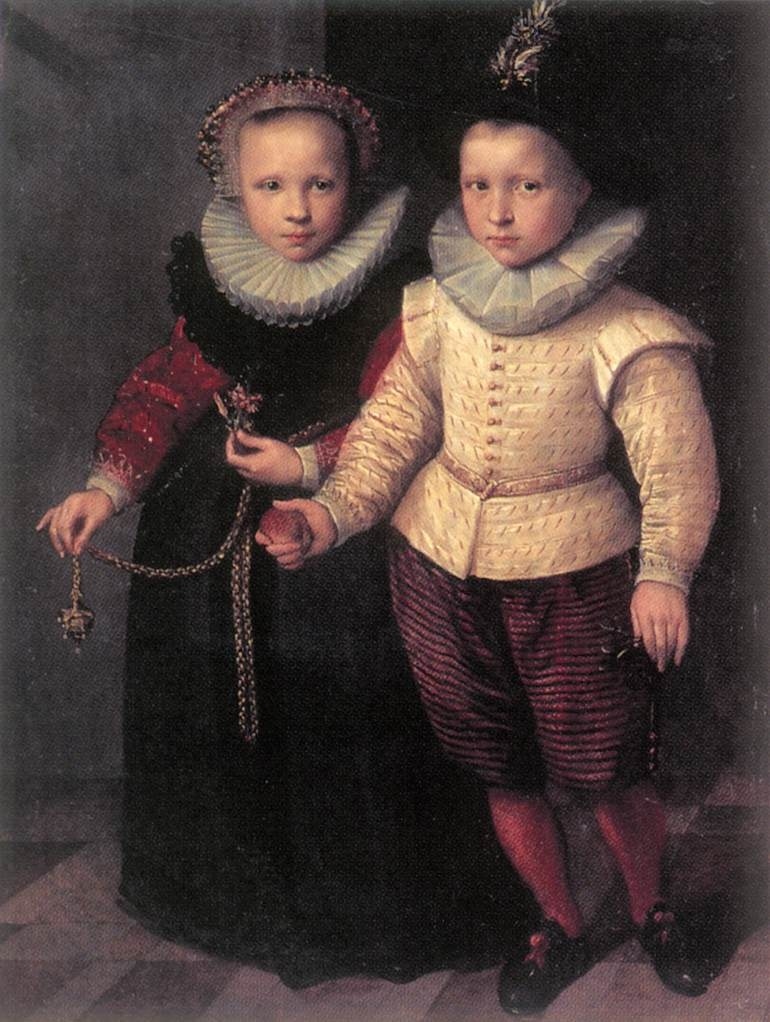 Double Portrait of a Brother and Sister