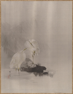 Egrets at the Water's Edge