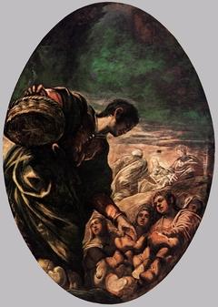 Elisha Multiplies the Bread
