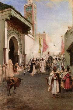 Entrance of Mehmet II into Constantinople