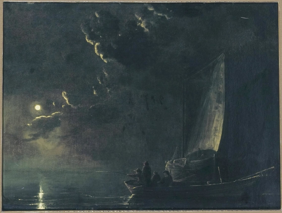 Fishermen by Moonlight