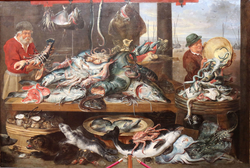 Fishmarket at the harbour