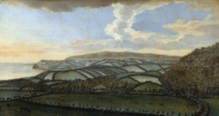 Four Views from Dunster Castle: the Landscape looking towards the Quantocks in the East, the Sea with Blue Anchor on the left