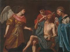 Healing of blind Tobias