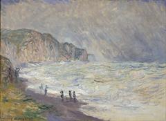 Heavy Sea at Pourville