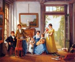 Hendrik Weymans en zijn familie