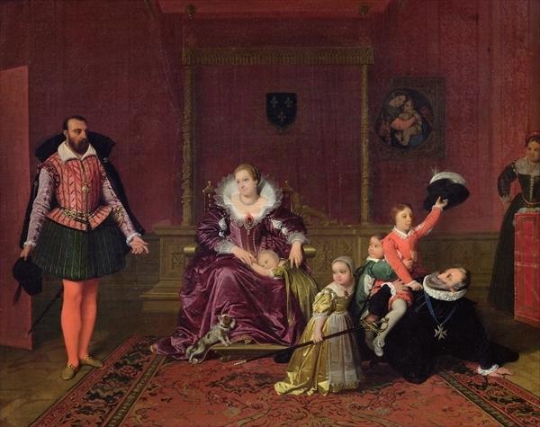 Henry IV Receiving the Spanish Ambassador