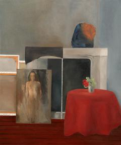 Hidden dead end                           (Oil on canvas 50 x 60 cm)