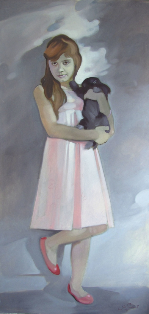 Infanta with rabbit