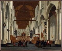 Interieur Laurenskerk
