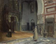 Interior of a Mosque, Cairo