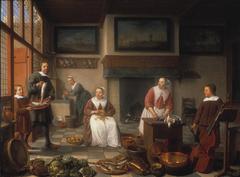 Jacob Bierens (1622-1664), zijn echtgenote Cornelia Haeck(16