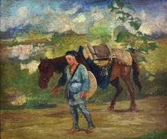 Japanese Peasant Girl