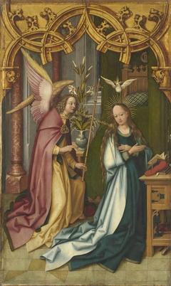 Kaisheimer Altar: Verkündigung Mariens