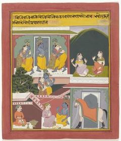 Krishna en Radha