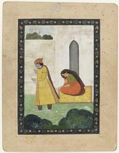 Krishna verlaat Radha