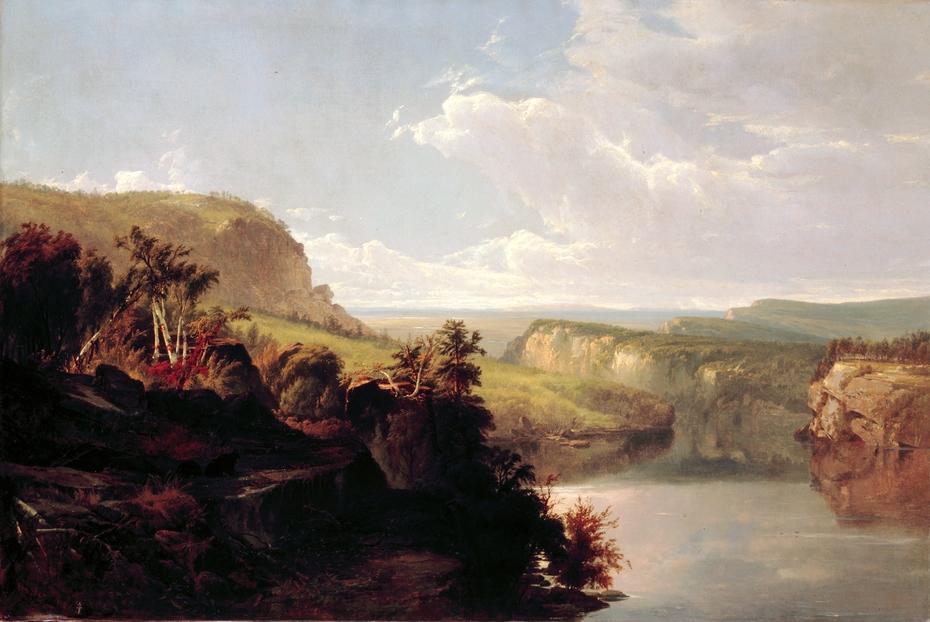 Lake Among the Hills