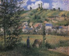 Landscape at Le Valhermeil, Auvers-sur-Oise