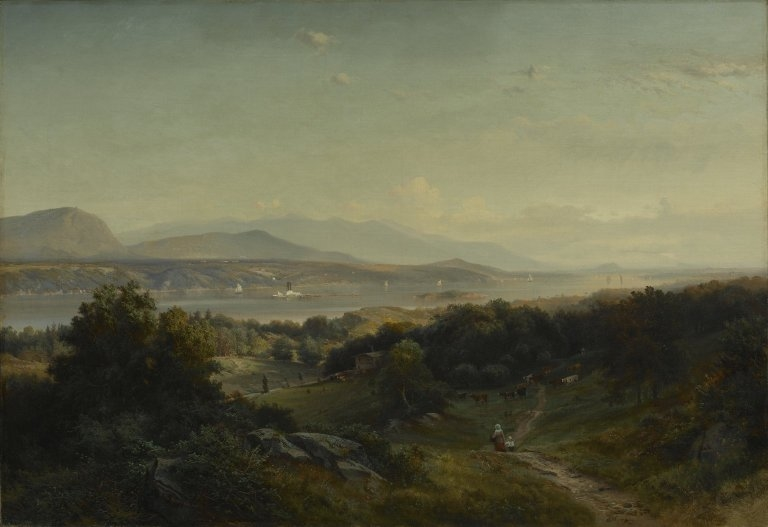 Landscape, Hyde Park, New York