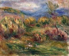 Landscape near Cagnes-sur-Mer