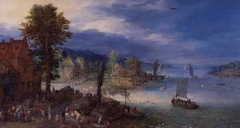 Landscape with a Fishing Village