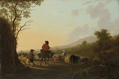 Landscape with Cattle Driver and Shepherd