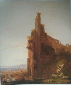 Landscape with the Colosseum