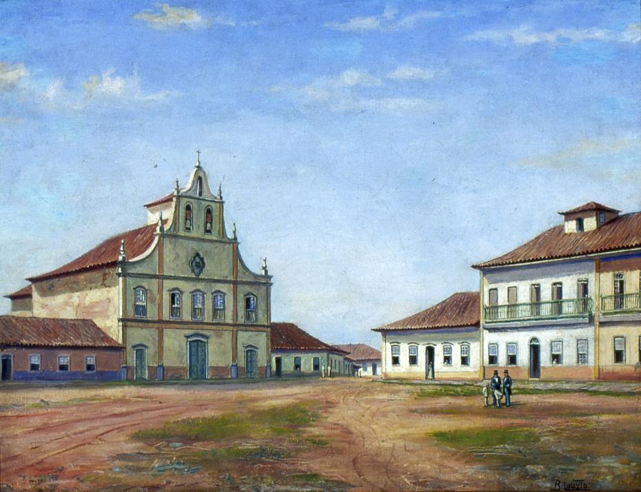 Largo dos Remédios, 1862
