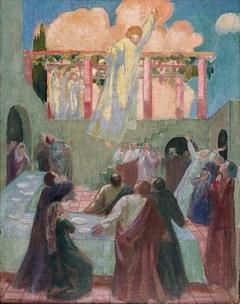 Le Christ apparaissant aux apôtres