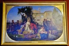 Le jour du dimanche, scène florentine du XVème siècle