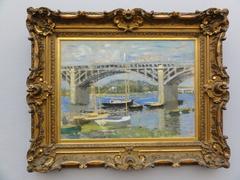Le Pont sur la Seine à Argenteuil